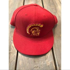 USC Trojans Flat Bill Hat